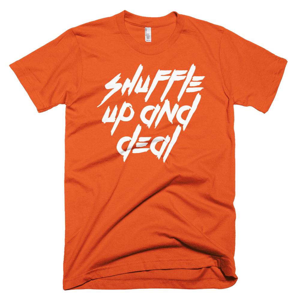 Shuffle Up and Deal Poker T-Shirt