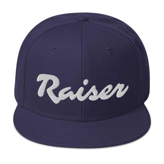 Raiser Signature Snapback Hat