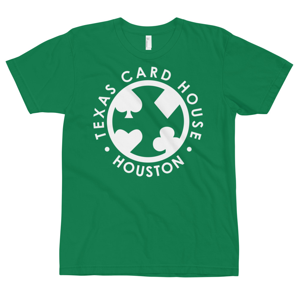 Texas Card House Houston T-Shirt #5