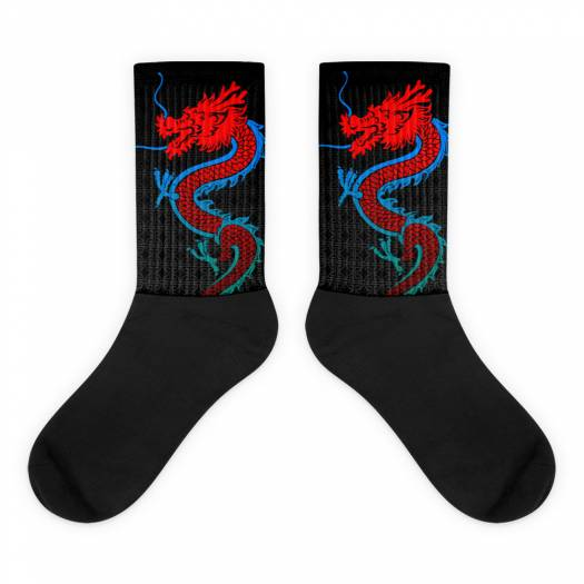 Dragon Poker Socks