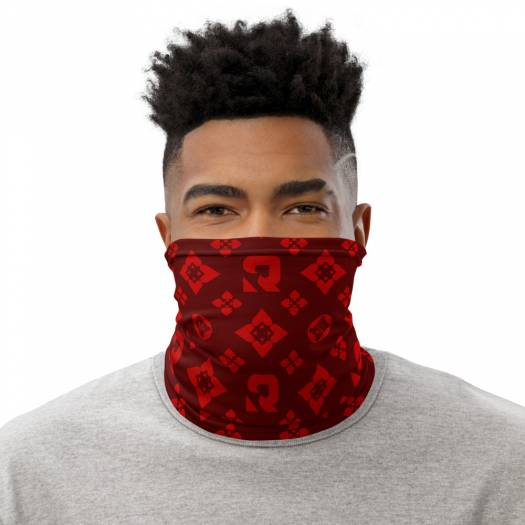 Betting Pattern Poker Face Mask